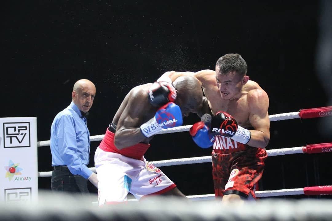 Аким Алматы поздравил Каната Ислама с победой в бою за титул чемпиона WBO, фото-3
