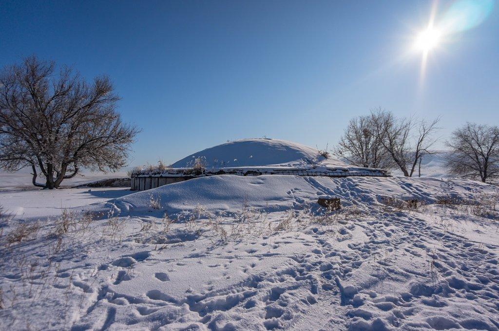 Как выглядит заброшенная ракетная шахта в Алматинской области (фото), фото-1