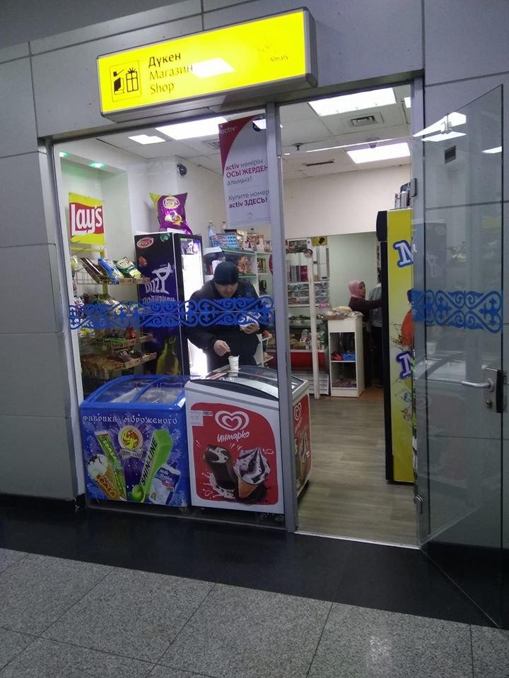 Магазин на территории аэропорта - Автор фото: Марина Раевская/Facebook
