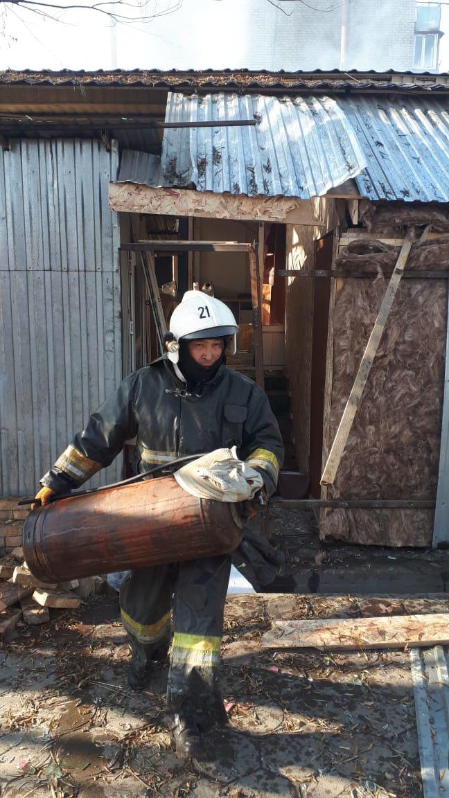Хлопок газа произошел в одном из кафе Алматинской области, фото-1