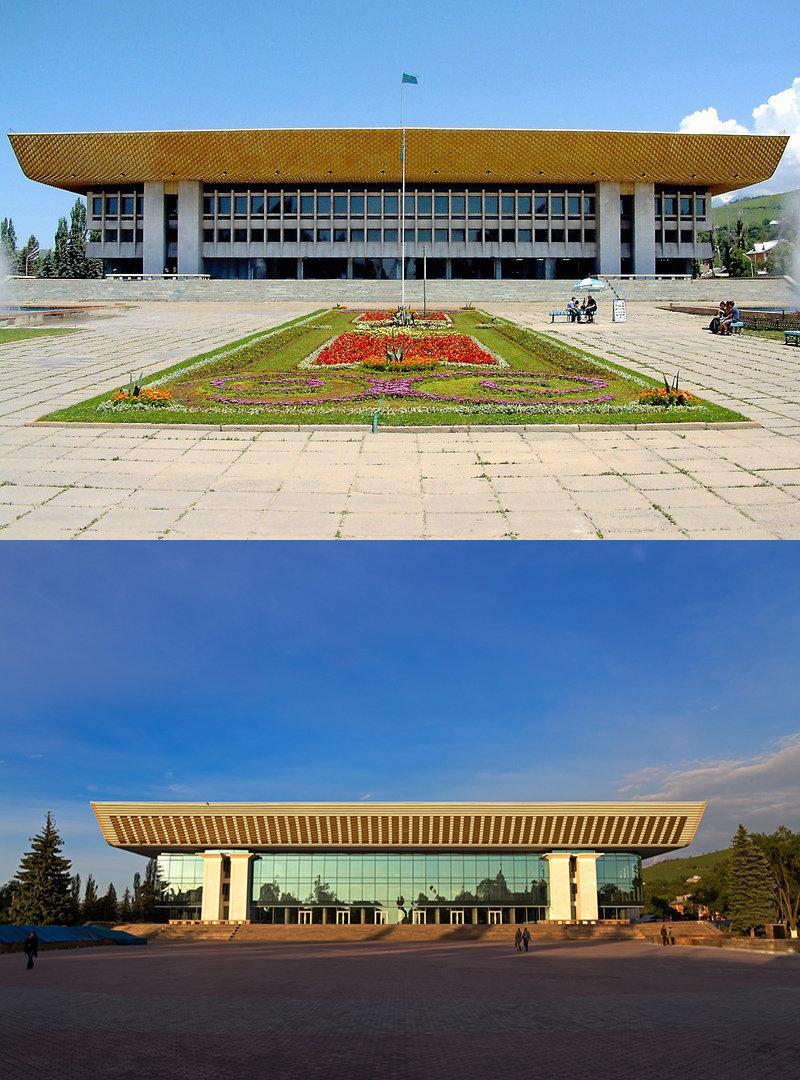 Исторические здания советской Алма-Аты, потерявшие свой облик, фото-1