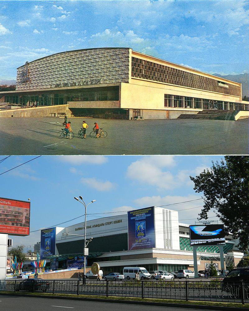 Исторические здания советской Алма-Аты, потерявшие свой облик, фото-2