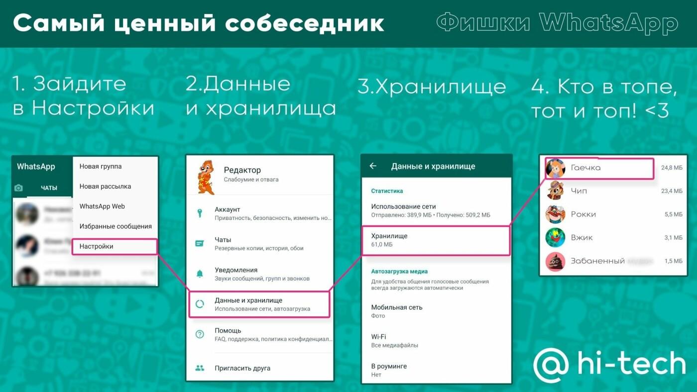 Фишки WhatsApp: советы, как настроить мессенджер под себя, фото-1