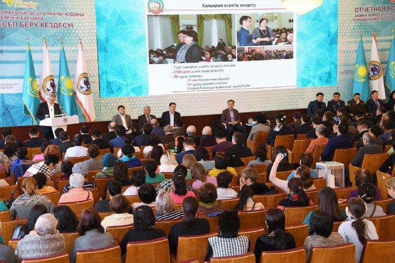 Пресс-служба акима Алматы