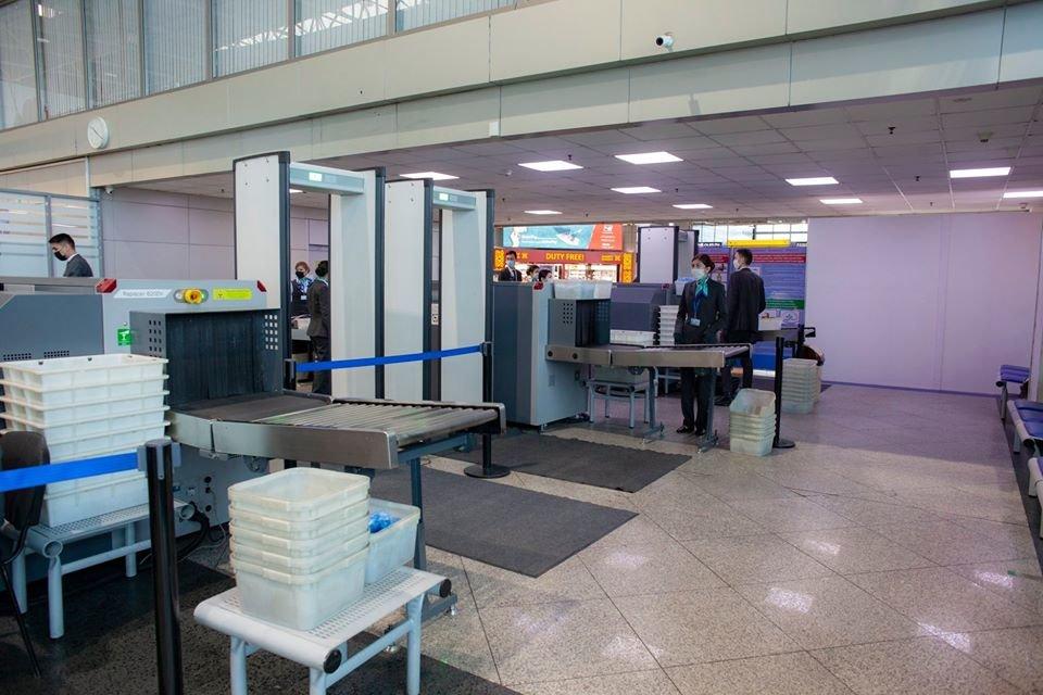 Количество коридоров досмотра увеличили в международном зале аэропорта Алматы, фото-1, Аэропорт Алматы/Facebook