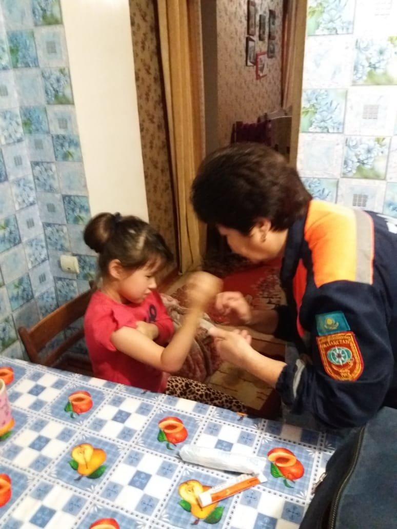 Спасатели помогли ребенку