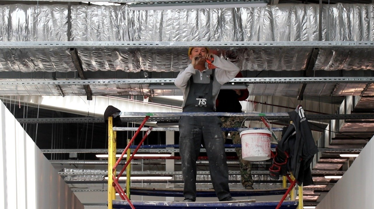 Новые павильоны строят на рынке «Алтын Орда» , фото-3