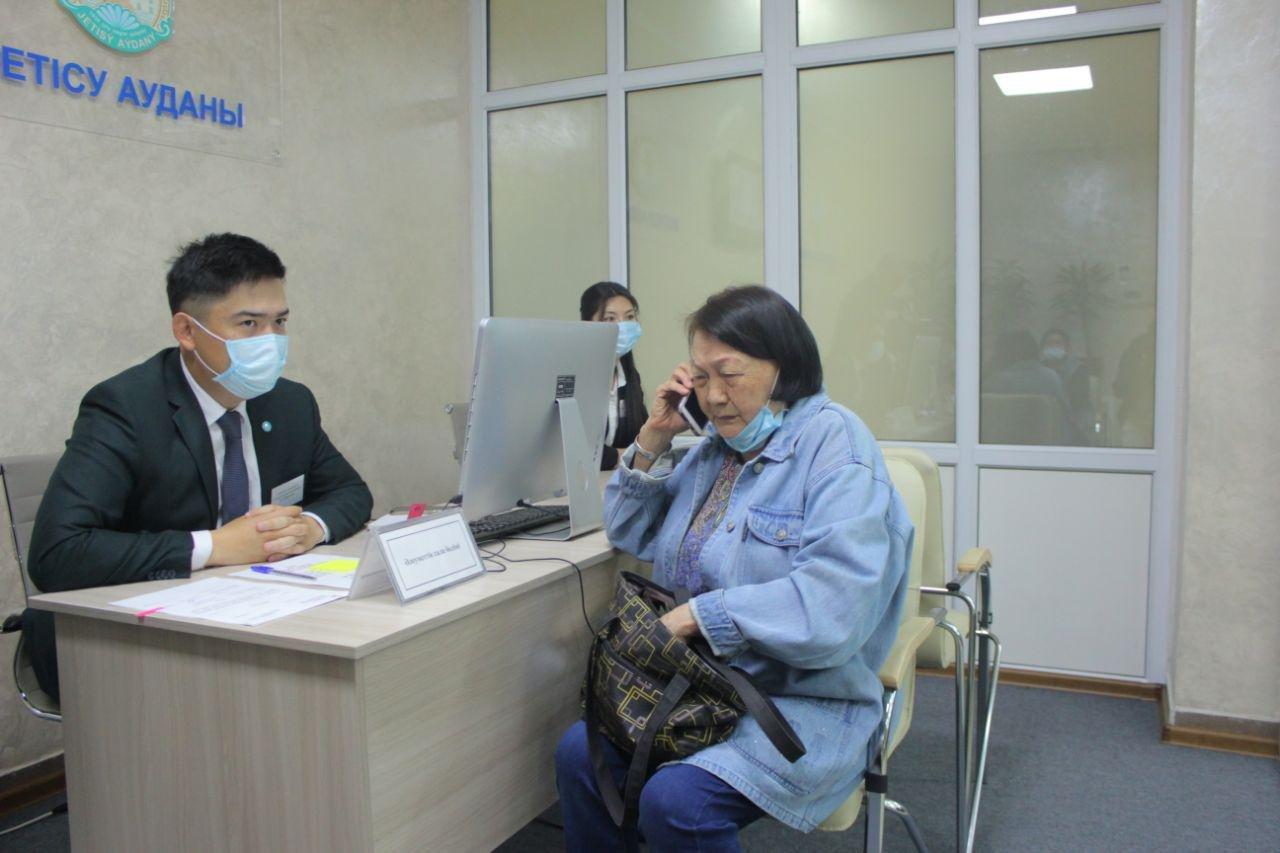 В Жетысуском районе Алматы открылся новый офис сервисного акимата, фото-4