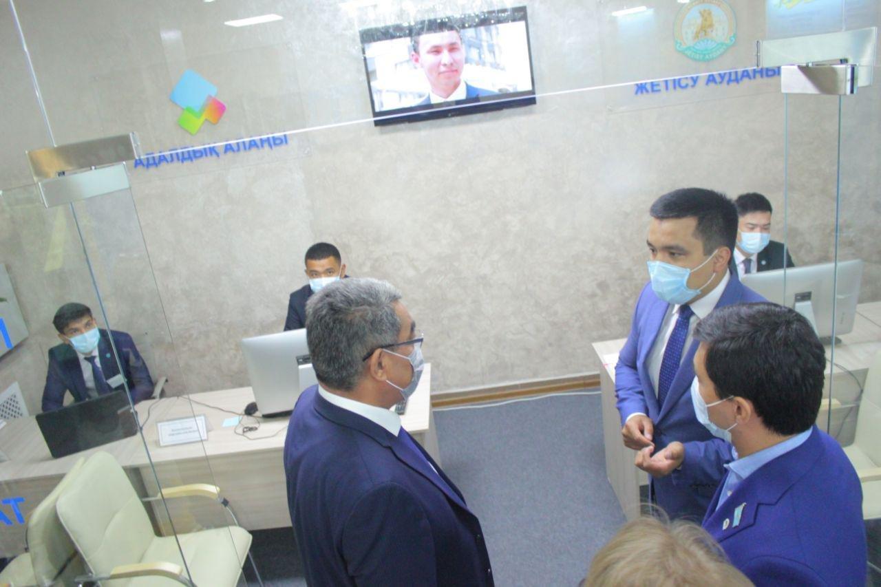 В Жетысуском районе Алматы открылся новый офис сервисного акимата, фото-5