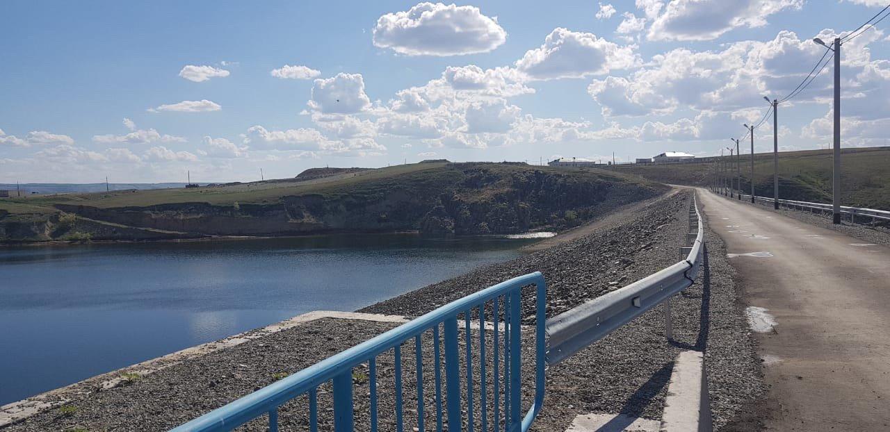 Строительство Кызылагашского водохранилища завершат в этом году, фото-1