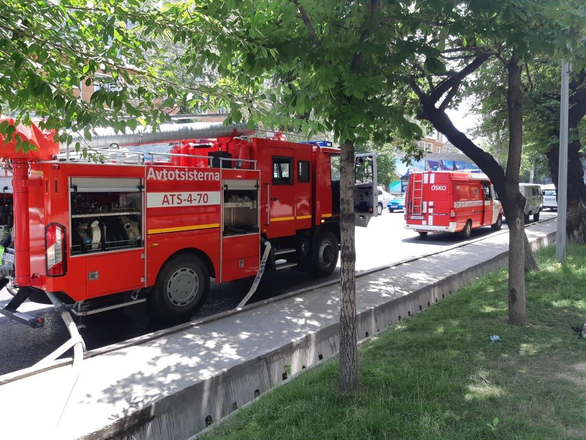 В алматинском кафе произошло возгорание, фото-2