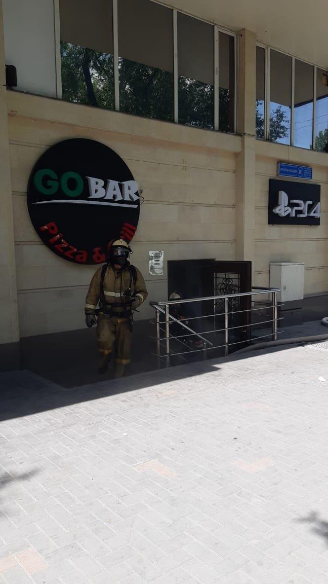 В алматинском кафе произошло возгорание, фото-3