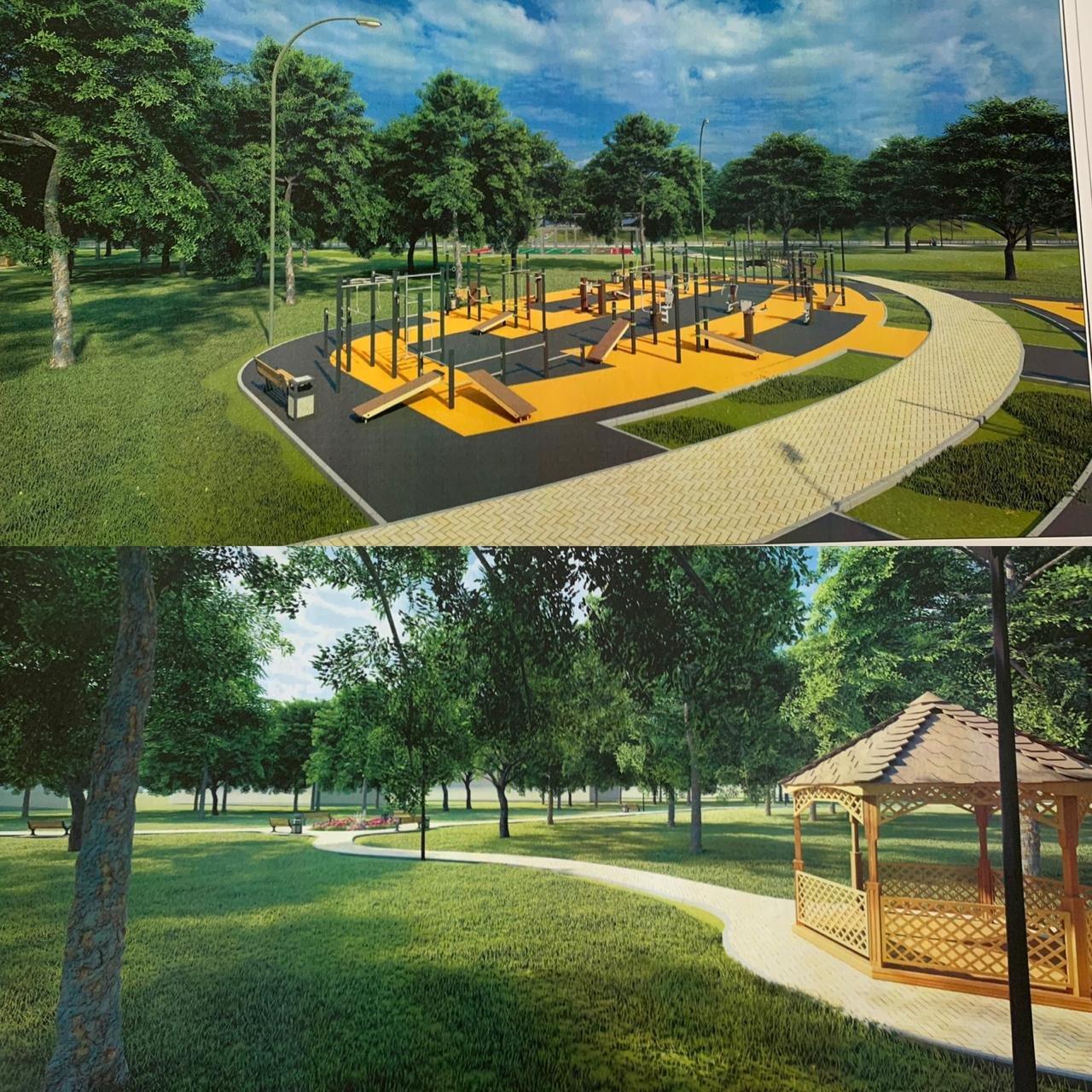 В Жетысуском районе Алматы планируют построить парковую зону вдоль набережной реки Есентай, фото-4