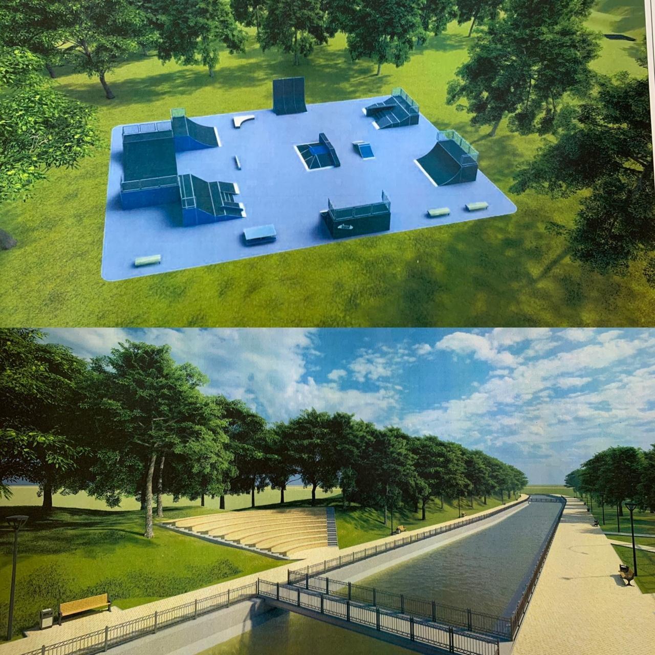 В Жетысуском районе Алматы планируют построить парковую зону вдоль набережной реки Есентай, фото-5