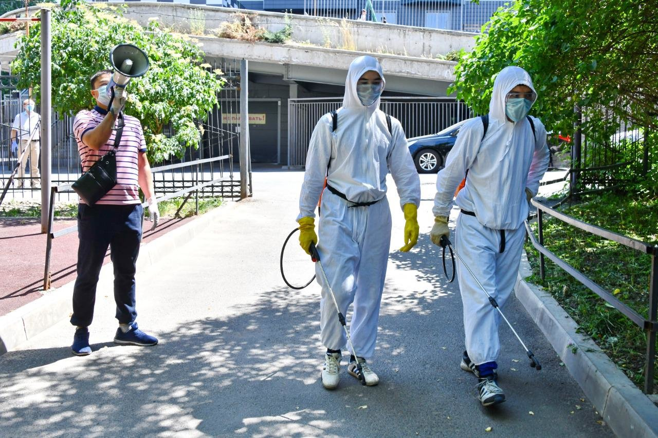 Новый этап массовой дезинфекции в Алматы начнется с 6-ого июня, фото-2