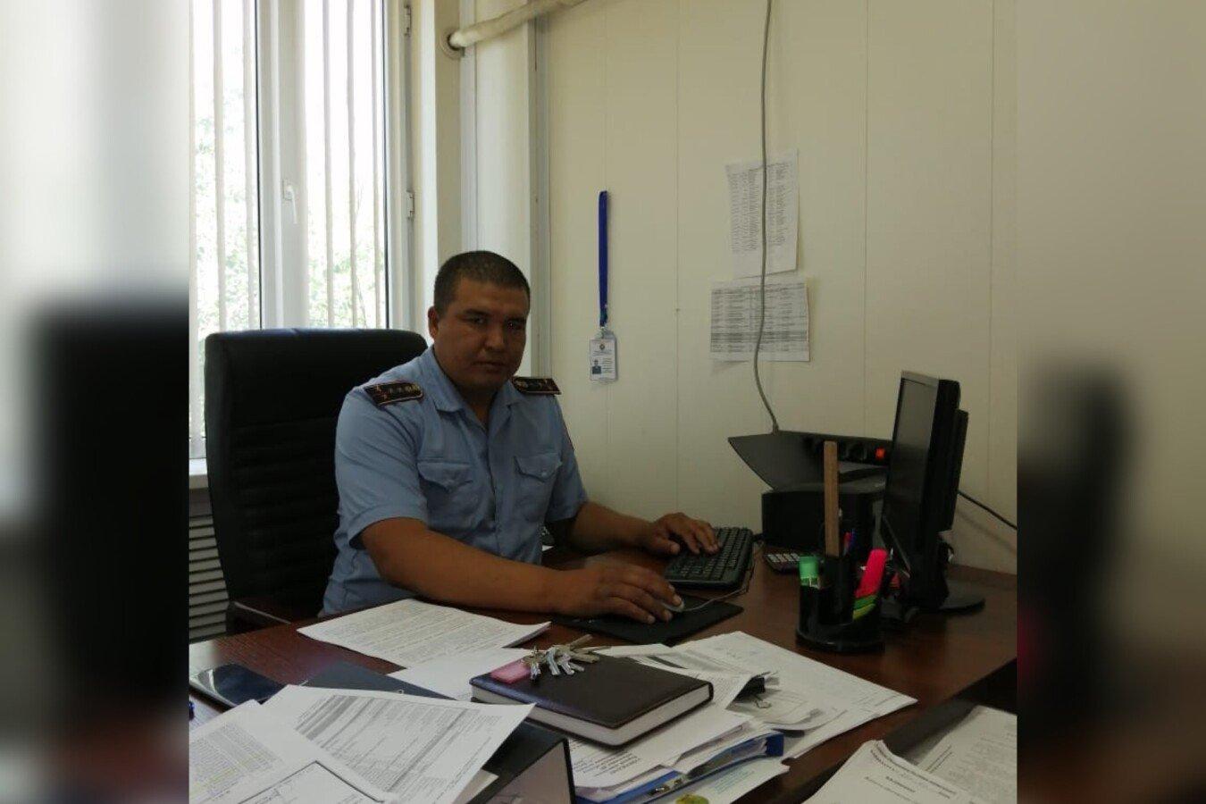 Лучшего полицейского выбрали в Алматинской области, фото-1