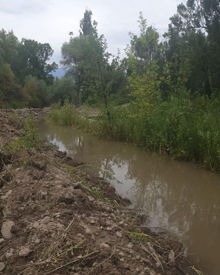 В Турксибском районе Алматы проводят реконструкцию русла реки Жарбулак, фото-2