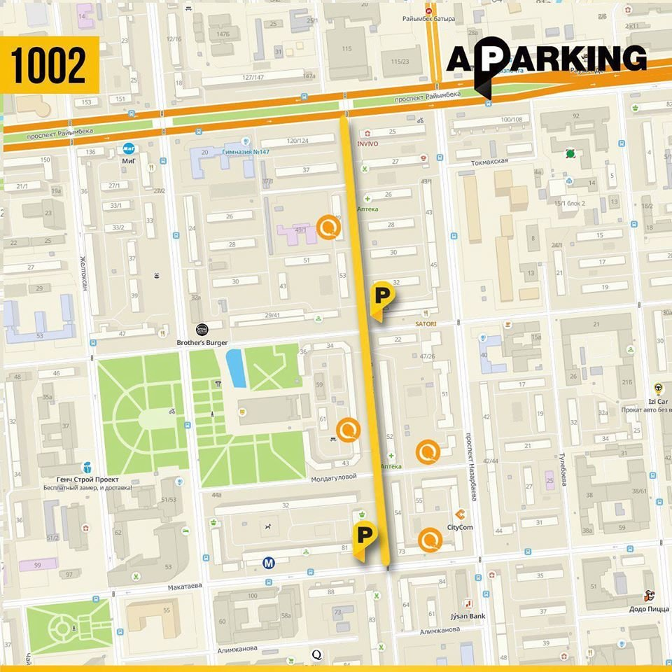 В Алматы с 22 июля заработают три новых участка платной парковки, фото-2, Almaty Parking/Facebook