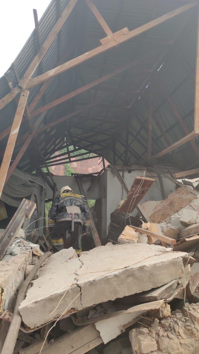 Хлопок газа обрушил частный дом в Алматы, фото-3
