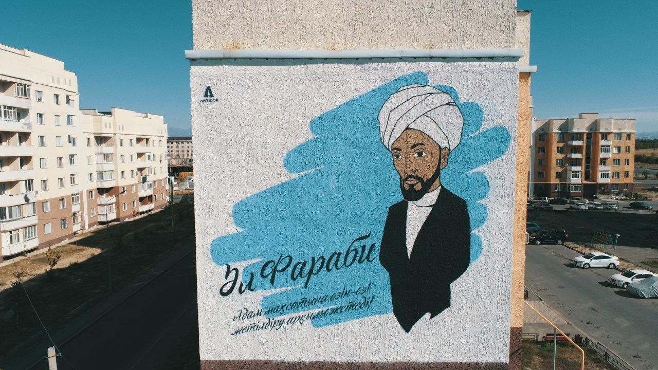 Пять муралов за месяц создали в Алматинской области, фото-1