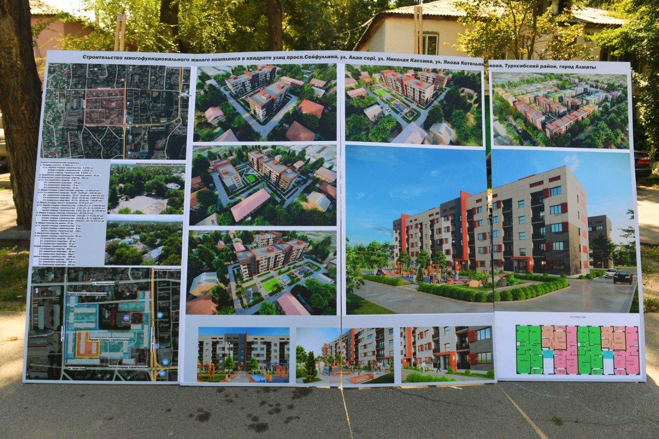 В трех районах Алматы на месте ветхих домов построят новые, фото-1