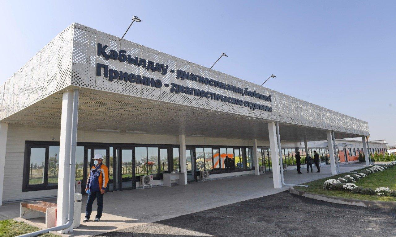 Еще один инфекционный госпиталь на 300 мест построили в Алматы , фото-2