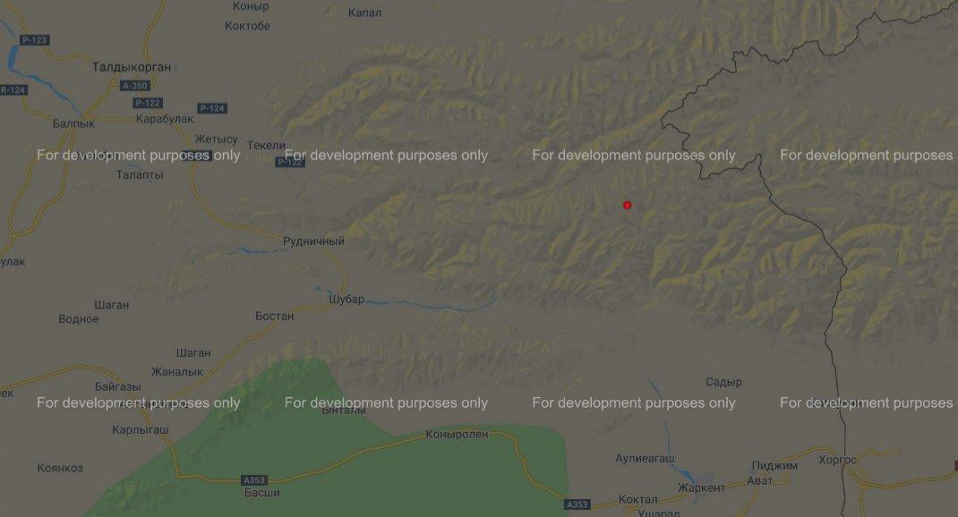Землетрясение произошло в Алматинской области, фото-1