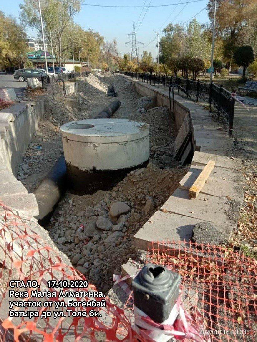 В акимате прокомментировали жалобы активистов на снос каскадов реки Малая Алматинка, фото-1
