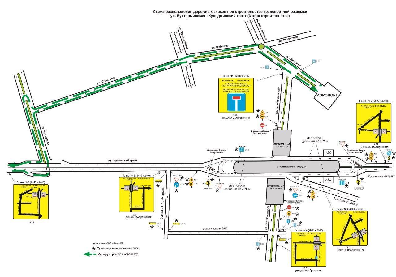 В Алматы частично перекроют движение по улице Бухтарминской до 2021 года из-за строительства развязки, фото-1