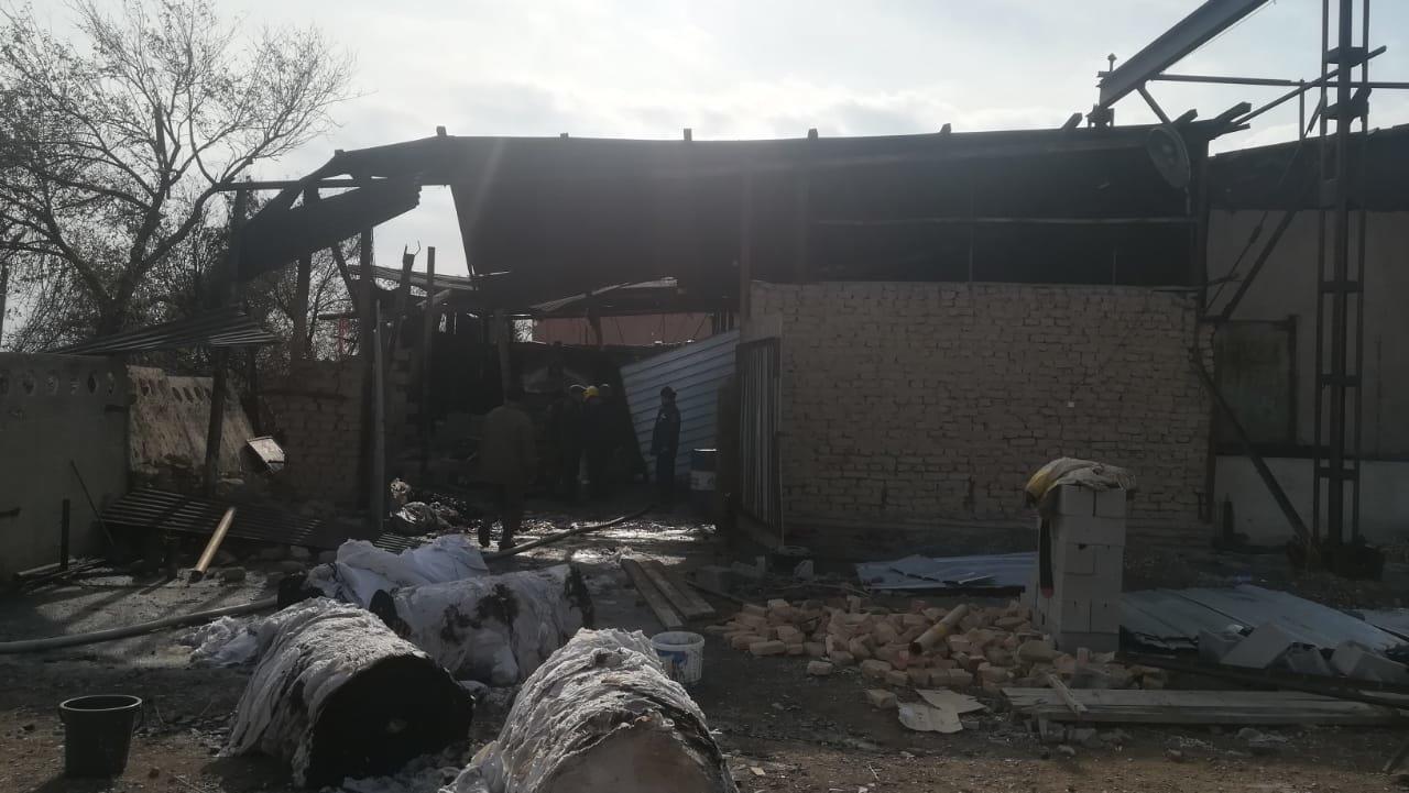 Рабочий погиб при взрыве в цеху в Алматинской области, Пресс-служба МЧС РК