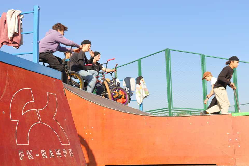 Скейт-парк открыли в микрорайоне Жас-Канат в Алматы, фото-2
