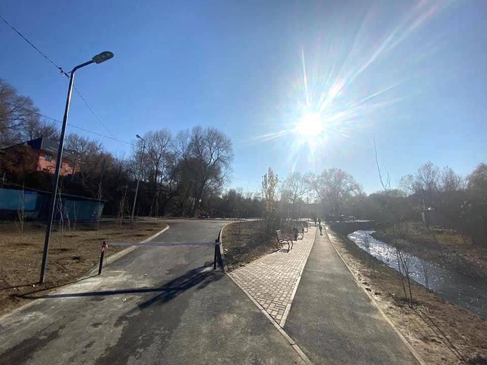 Набережная реки Бас Карасу, Бахытжан Акжаров/Facebook