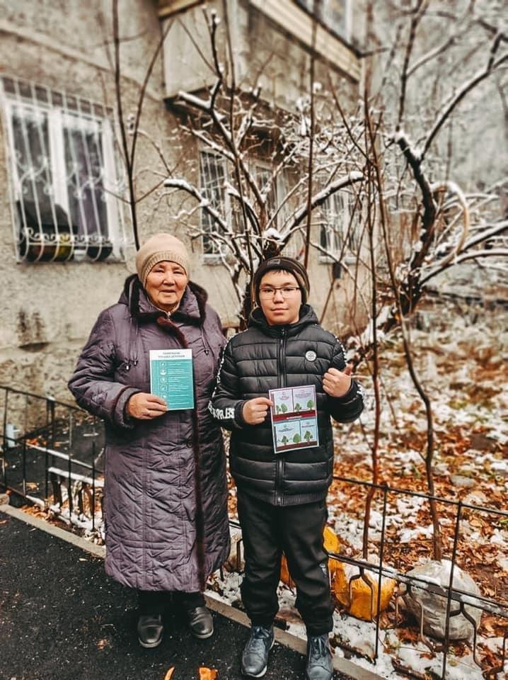 Горожанам дали консультации по высадке деревьев