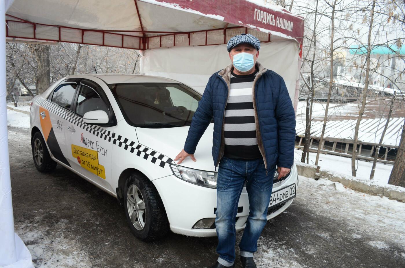 Как дезинфицируют машины, выполняющие заказы сервиса Яндекс.Такси в Алматы, фото-10