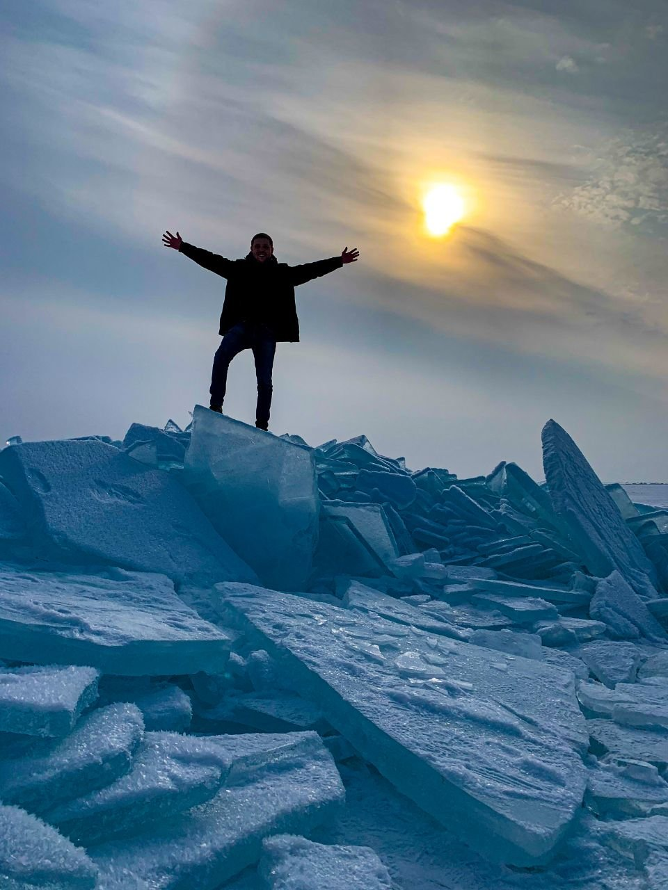 Как бесплатно и безопасно посмотреть на Капшагайские льдины, рассказали в акимате и ДЧС, фото-1