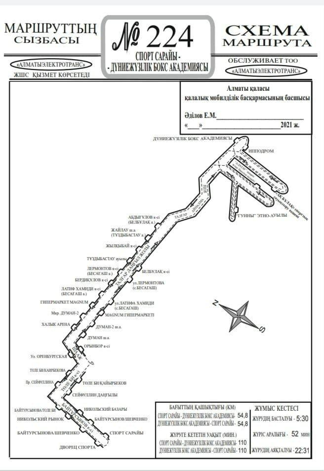 В Алматы запущен маршрут от Дворца спорта до лыжного комплекса «Алатау» и «Ак булака», фото-1