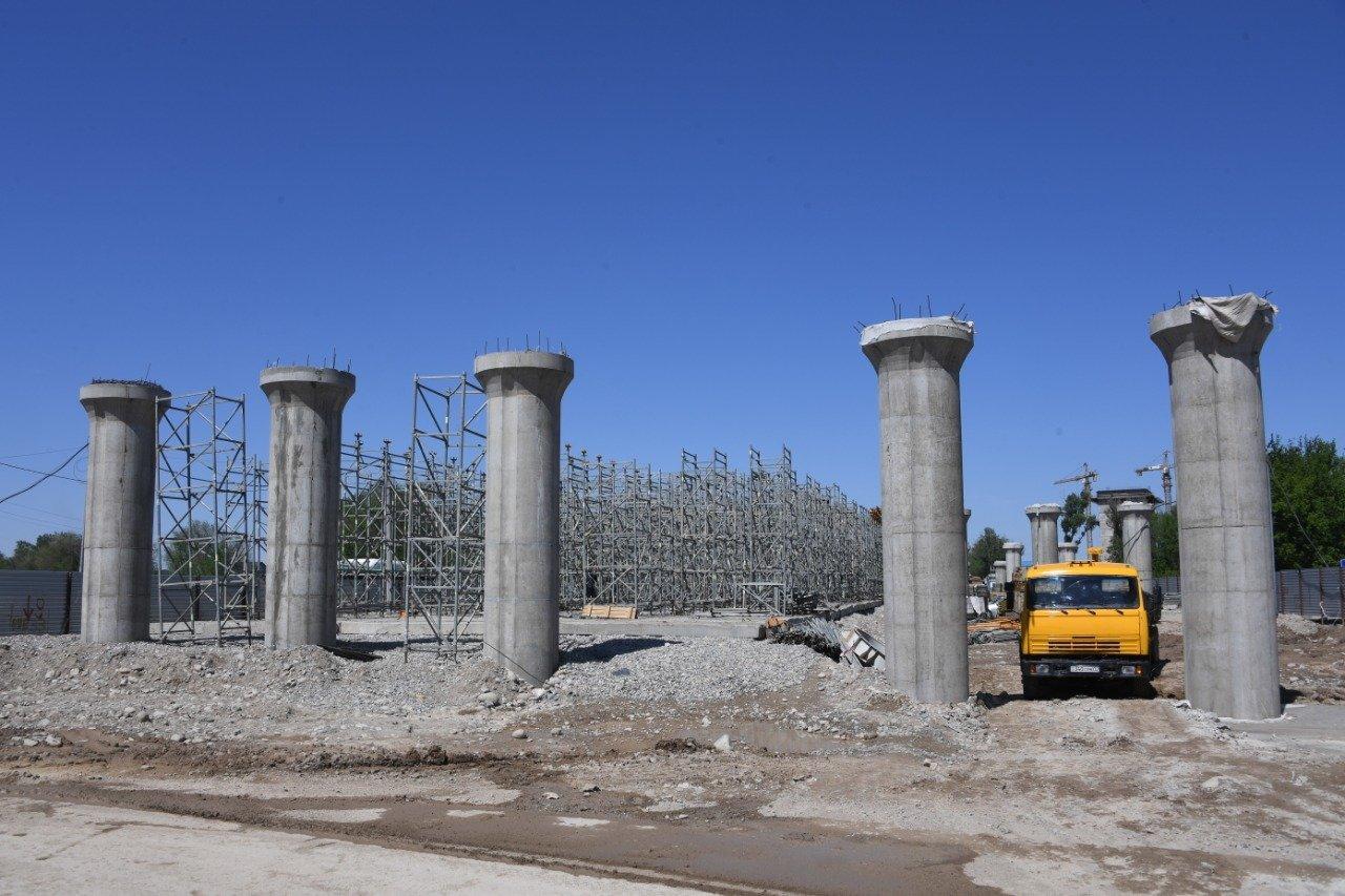 Запускать движение на развязке на аэропортовском кольце в Алматы будут поэтапно, пресс-служба акимата города