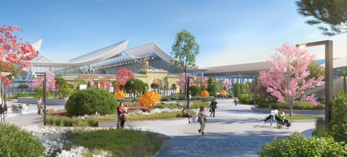 В Общественном совете Алматы подготовили альтернативный вариант нового терминала аэропорта, фото-4