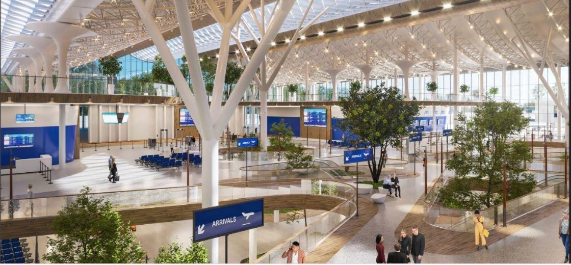 В Общественном совете Алматы подготовили альтернативный вариант нового терминала аэропорта, фото-6