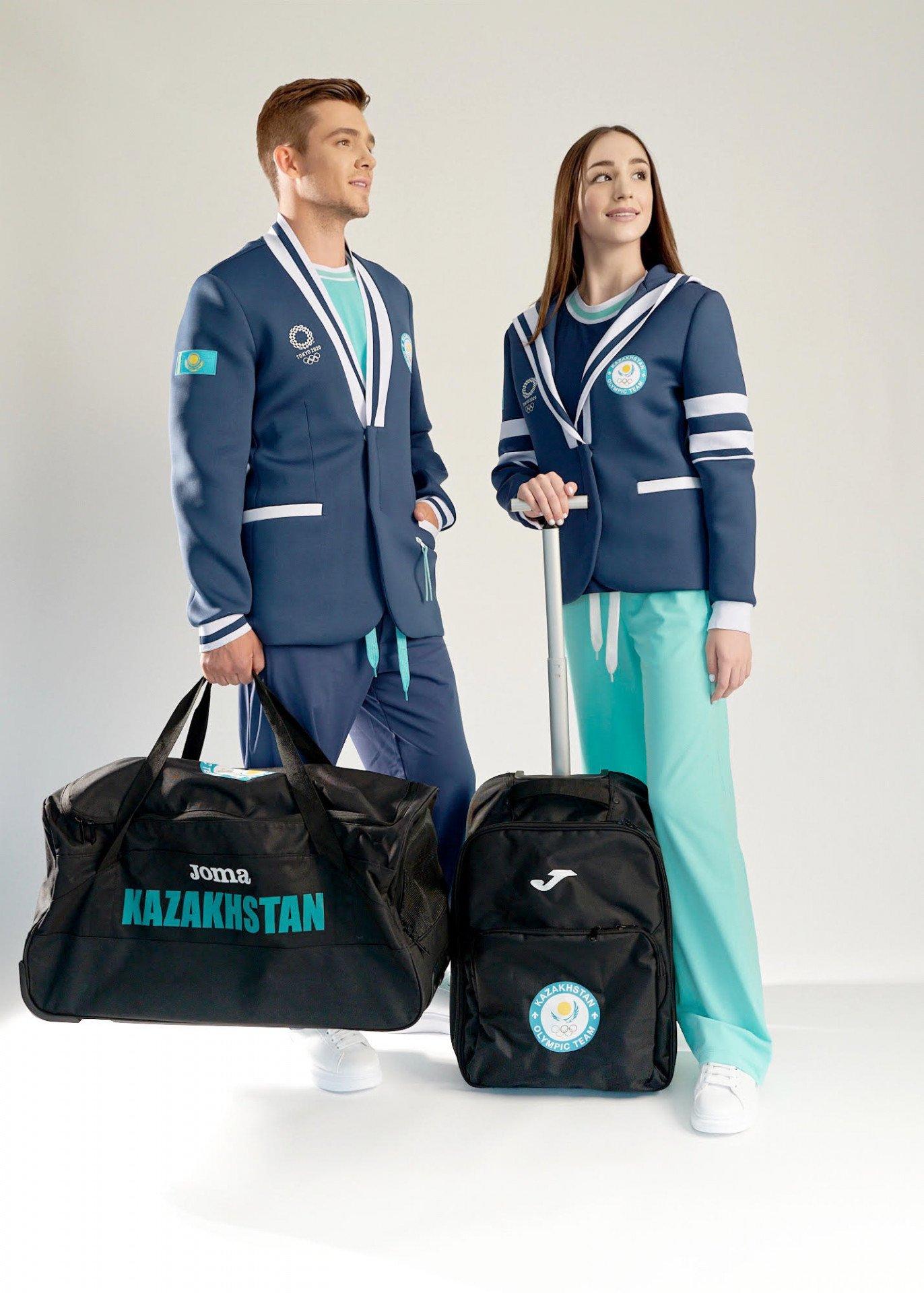 Новую олимпийскую форму казахстанских спортсменов представил НОК, фото-3