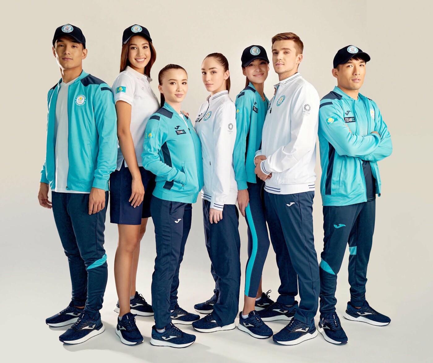Новую олимпийскую форму казахстанских спортсменов представил НОК, фото-1
