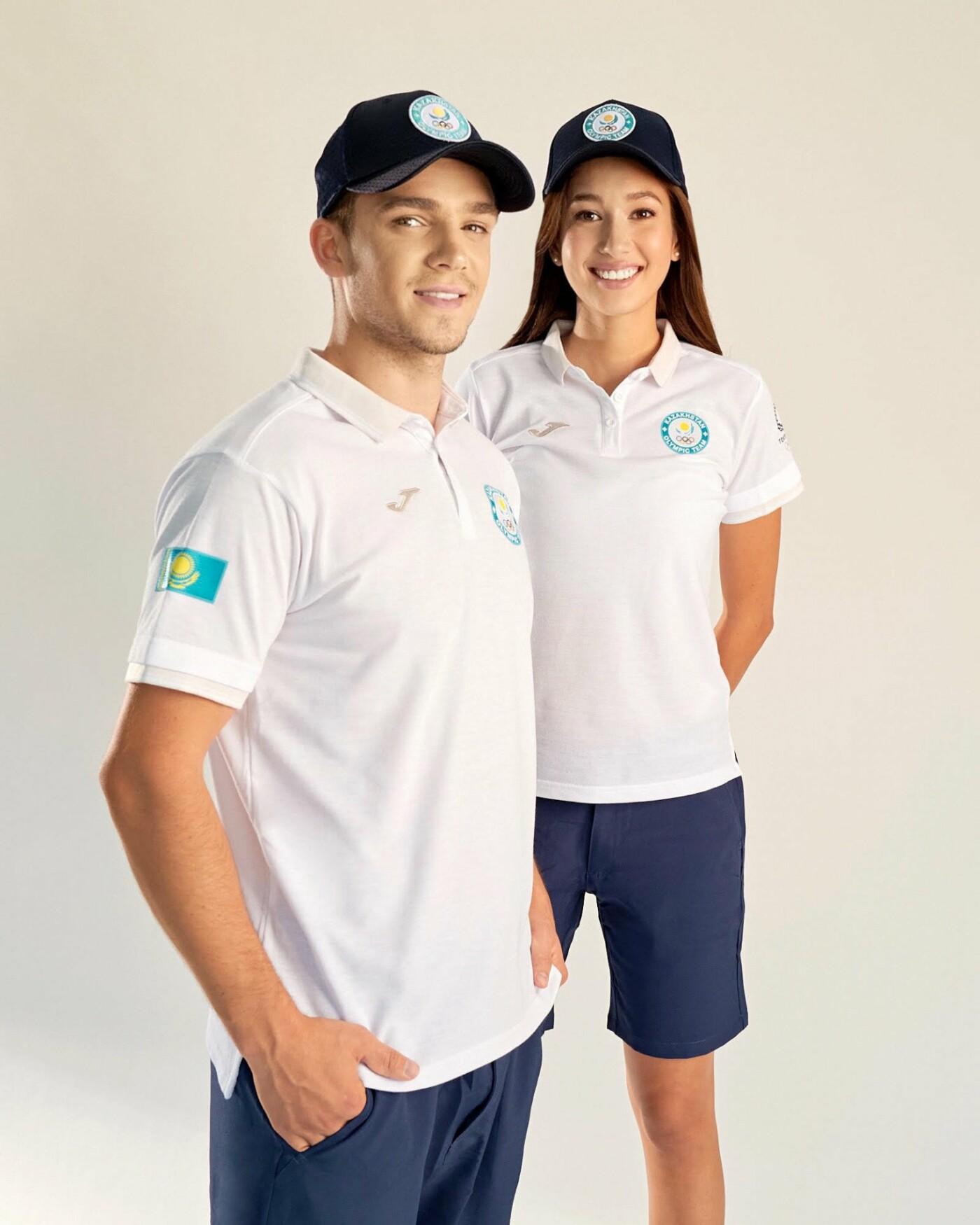 Новую олимпийскую форму казахстанских спортсменов представил НОК, фото-4