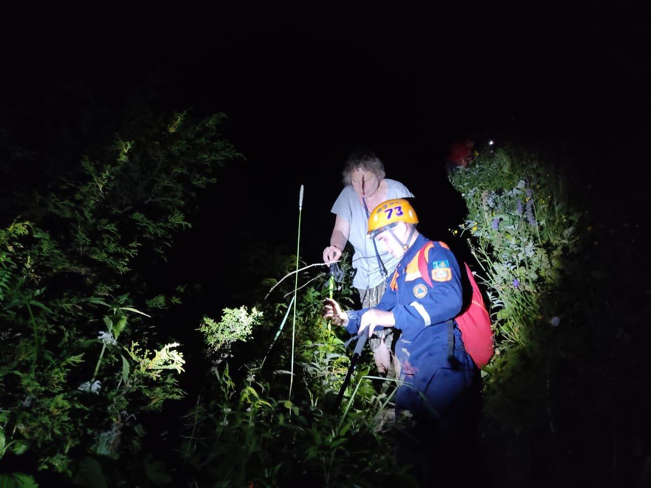 Четверых заблудившихся туристов спасли в горах Алматы, фото-1, РОСО МЧС РК
