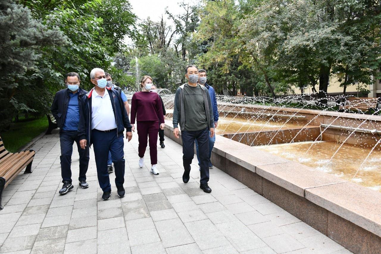 Фонтан «Неделька» восстановили в Алматы, фото-1, Акимат Алматы